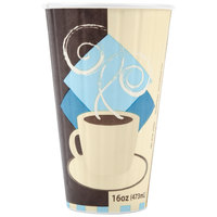 Solo IC16-J7534 Duo Shield 16 oz. Poly Paper Hot Cup - 35/Pack