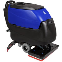 Pacific 875425 S-28 28 inch Walk Behind Orbital Auto Floor Scrubber with Transaxle Drive - 260AH Batteries with Charger