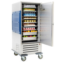Metro C5R9-SB Single Door Refrigerated Cabinet with Adjustable Bottom Load Slides - 120V
