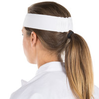 Headsweats 8801-801 White High-Performance Fabric Headband