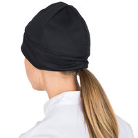 Headsweats Black Alpine Reversible Chef Beanie