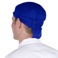 Headsweats 8807-804 Royal Blue Shorty Chef Cap