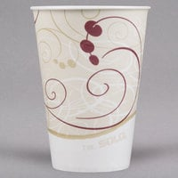 Solo R7N-J8000 Symphony 7 oz. Wax Treated Paper Cold Cup - 2000/Case