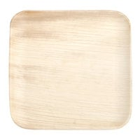 Eco-gecko 25068 6 inch Sustainable Square Palm Leaf Plate - 100/Case