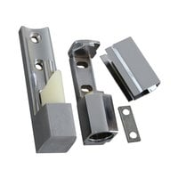 All Points 26-1578 4 5/16 inch x 1 1/8 inch Edge Mount Door Hinge with 7/8 inch Offset
