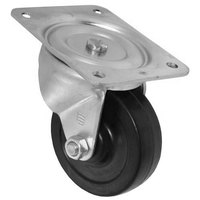 All Points 26-3329 4 inch Swivel Plate Caster - 300 lb. Capacity