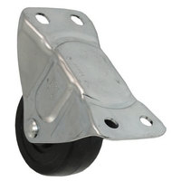 All Points 26-3337 2 1/2 inch Rigid Plate Caster - 200 lb. Capacity