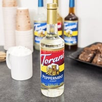 Torani 750 mL Peppermint Flavoring Syrup