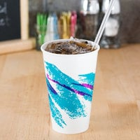 Solo RP12NP-00055 Jazz 12 oz. Poly Paper Cold Cup - 2000/Case