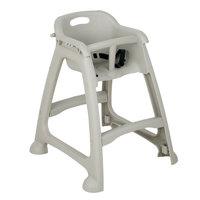 Walnut Eurobambino Stackable Baby High Chair Highchair Wooden Home Restaurant
