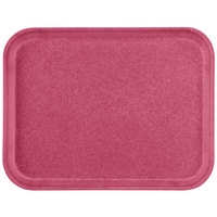Carlisle 1410FG054 Customizable10 inch x 14 inch Glasteel Mulberry Fiberglass Tray - 12/Case