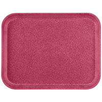 Carlisle 1612FG054 Customizable 12 inch x 16 inch Glasteel Mulberry Fiberglass Tray - 12/Case