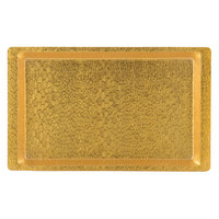 20 inch x 12 inch Textured Gold Acrylic Display Tray