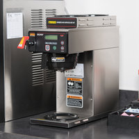 Bunn 38700.0000 Axiom 15-3 Automatic Coffee Brewer with 1 Lower and 2 Upper Warmers - 120V