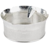 Tellier P10010 1/32 inch Perforated Replacement Sieve for 15 Qt. Food Mill on Stand - Tinned Steel