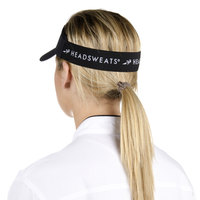 Headsweats Black CoolMax Chef Visor