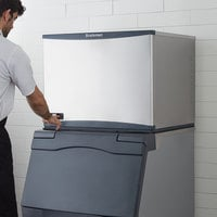 Scotsman C0330SW-1 Prodigy Plus Series 30 inch Water Cooled Small Cube Ice Machine - 420 lb.