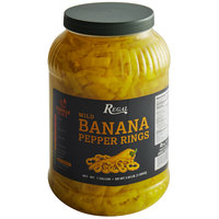 Regal Mild Banana Pepper Rings 1 Gallon - 4/Case