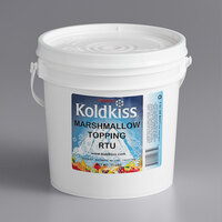 Koldkiss Marshmallow Ready to Use Snowball Topping - 11 lb. Pail