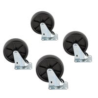 Scotsman KBC1P Casters for Ice Bins - 4/Set