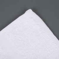 Oxford Bronze 24 inch x 50 inch 100% Open End Cotton Bath Towel 10 lb. - 12/Pack