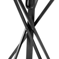 Tablecraft 331 Black Folding Tray Stand - 30 inch