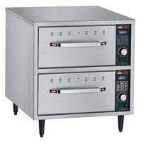 Hatco HDW-2N Freestanding Narrow Two Drawer Warmer - 240V, 900W