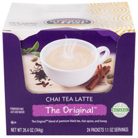 Oregon Chai 24 ct. Single Serve Packets Original Chai Dry Mix - 6/Case