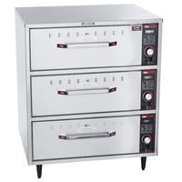 Hatco HDW-3 Freestanding Three Drawer Warmer - 240V, 1350W