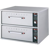 Hatco HDW-2 Freestanding Two Drawer Warmer - 240V, 900W