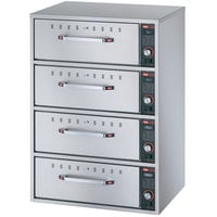 Hatco HDW-4 Freestanding Four Drawer Warmer - 120V, 1800W