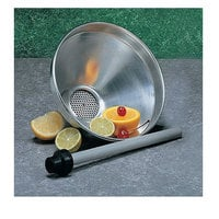 American Metalcraft 913ST 2 Qt. (64 oz.) Funnel with Built-In Strainer