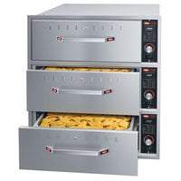 Hatco HDW-3 Freestanding Three Drawer Warmer - 208V, 1350W