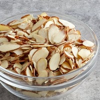 Blue Diamond 25 lb. Raw Sliced Almonds