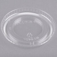 Solo 640TP Clear Plastic Non-Vented Lid - 2500/Case