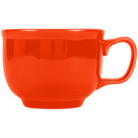 Fiesta Tableware from Steelite International HL149338 Poppy 18 oz. Jumbo China Cup - 12/Case