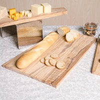 American Metalcraft OWB2213 22 inch x 13 inch Olive Wood Serving Board