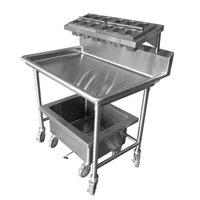 Steril-Sil E1-LSS-2H E1 Mobile Sorting Station Cart