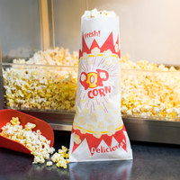 Paragon 1036 2 oz. Jumbo Paper Popcorn Bag - 1000/Case