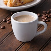 GET C-1004-W Diamond White 3 oz. Espresso Cup - 48/Case