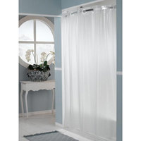 "It's A Snap! HBH14SL0957 Frost PEVA One PLANET Shower Curtain Liner with Magnets - 70"" x 57"""