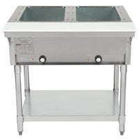 Eagle Group DHT2 Open Well Two Pan Electric Hot Food Table - 208V
