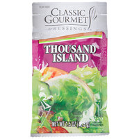 Classic Gourmet Thousand Island Dressing 1.5 oz. Portion Packet - 60/Case