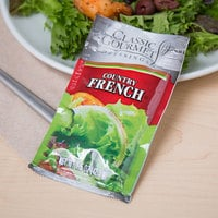 Classic Gourmet Country French Dressing 1.5 oz. Portion Packet - 60/Case