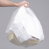 20-30 Gallon 10 Micron 30 inch x 37 inch Lavex Janitorial High Density Can Liner / Trash Bag - 500/Case