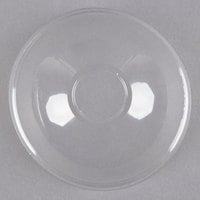 Solo DLR626 Clear Plastic Dome Lid with 1 inch Hole - 100/Pack