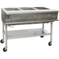 Eagle Group SPHT4 Portable Steam Table - Four Pan - Sealed Well, 208V, 3 Phase