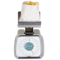 Taylor TP16FF 16 oz. Mechanical Scale with Fixed French Fry / Taco Platform