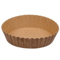 Solut 21088 8 oz. Paper Baking Cup with Quick Release Coating - 60/Pack