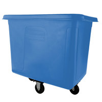 Rubbermaid FG461600DBLUE Dark Blue 16 Cu. Ft. Bulk Cube Truck (500 lb.)